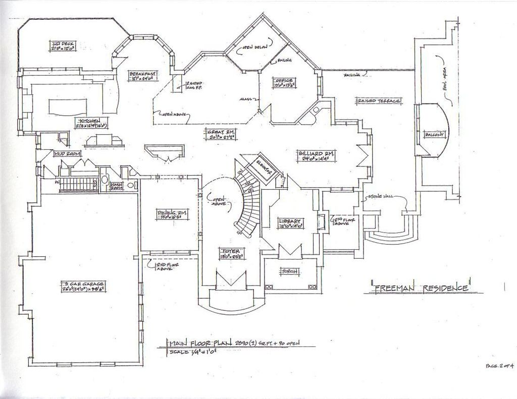 Bed and breakfast house floor plans - Bed and breakfast design floor plans ...